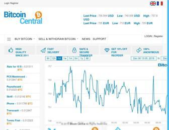 bitcoin-central.com screenshot