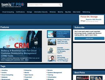 Thumbshot of Tomsitpro.com