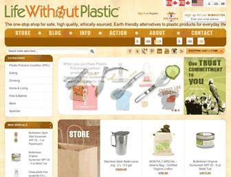 Thumbshot of Lifewithoutplastic.com