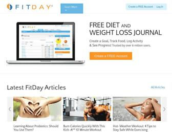 Thumbshot of Fitday.com