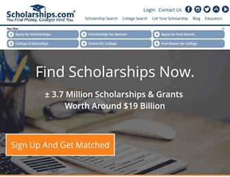 Thumbshot of Scholarships.com