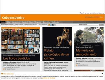 cubaencuentro.com screenshot