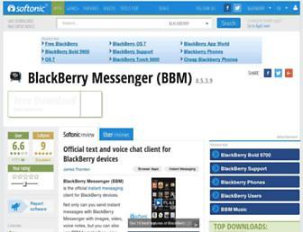 blackberry-messenger.en.softonic.com screenshot