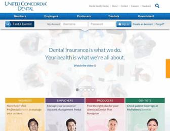 Thumbshot of Unitedconcordia.com