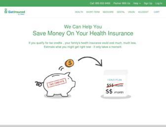 Thumbshot of Getinsured.com
