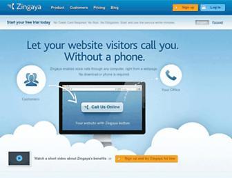 Thumbshot of Zingaya.com
