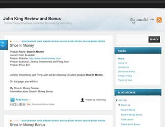 johnkingreviewandbonus.blogspot.com screenshot