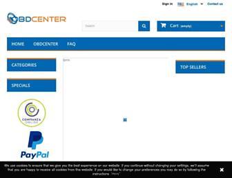 obdcenter.com screenshot
