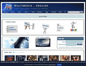 multimedia-english.com screenshot