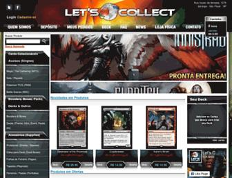 Thumbshot of Letscollect.com.br