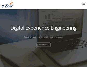 e-zest.com screenshot