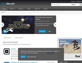 appwereld.nl screenshot