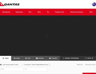 Thumbshot of Qantas.com.au