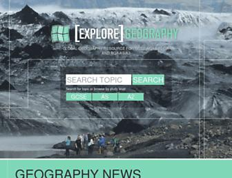 exploregeography.net screenshot
