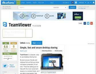 teamviewer.en.softonic.com screenshot