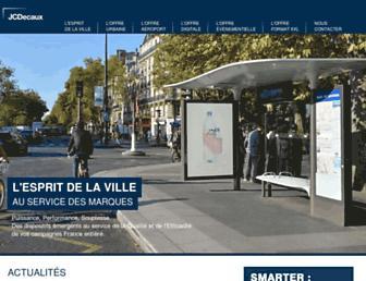 Thumbshot of Jcdecaux.fr