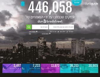 dunsguide.co.il screenshot