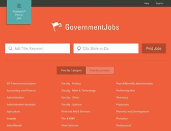 Thumbshot of Governmentjobs.com