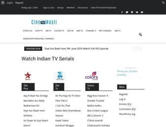 Thumbshot of Cinetvmasti.com