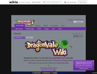 dragonvale.wikia.com screenshot