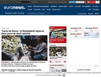 fr.euronews.com screenshot