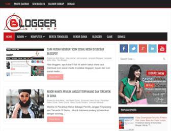 blogger-sidrap.blogspot.com screenshot