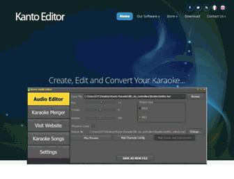 kantoeditor.com screenshot