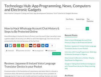 techpally.com screenshot