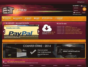 e-trail.eu screenshot