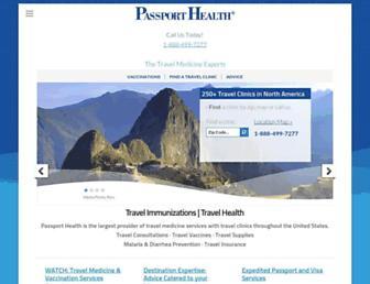 passporthealthusa.com screenshot