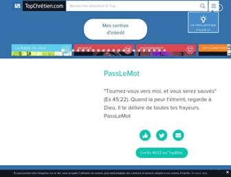 Thumbshot of Topchretien.com