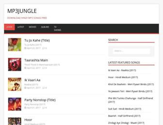 mp3jungle.net screenshot