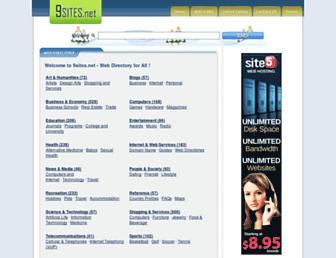 Thumbshot of 9sites.net