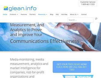 glean.info screenshot