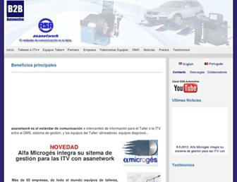 asanetwork.es screenshot
