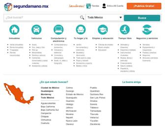 segundamano.mx screenshot