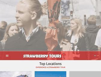 strawberrytours.com screenshot