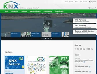 knx.org screenshot