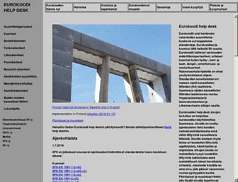 eurocodes.fi screenshot