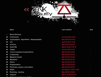 repo.zenk-security.com screenshot