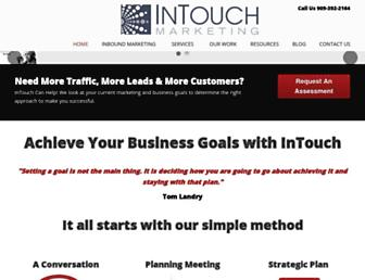 intouch-marketing.com screenshot