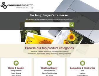 Thumbshot of Consumersearch.com