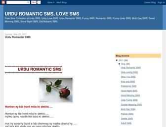 romanticurdusms.blogspot.com screenshot