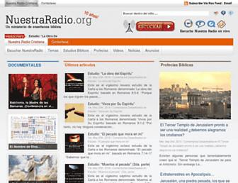 Thumbshot of Nuestraradio.org