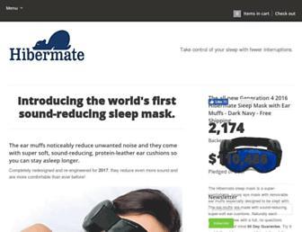 hibermate.com screenshot