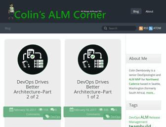 colinsalmcorner.com screenshot