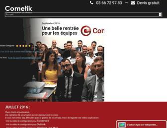 Thumbshot of Cometik.com