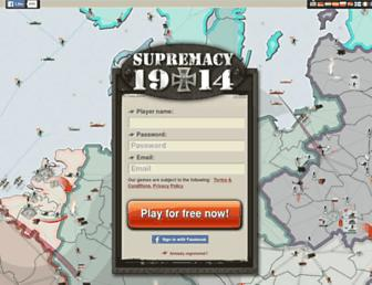 Thumbshot of Supremacy1914.com