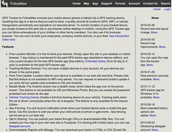 followmee.com screenshot