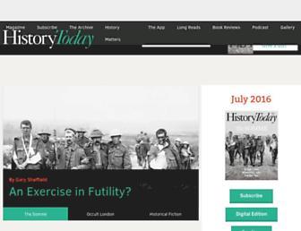 historytoday.com screenshot